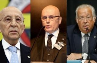 'Üç büyüklerin' divan başkanları bir...