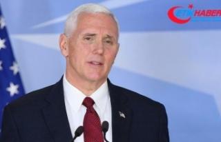 ABD Başkan Yardımcısı Pence: CIA Direktörü 'Kaşıkçı'...