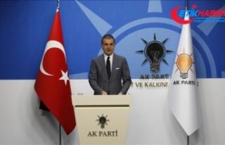 AK Parti Sözcüsü Ömer Çelik'ten Brunson...