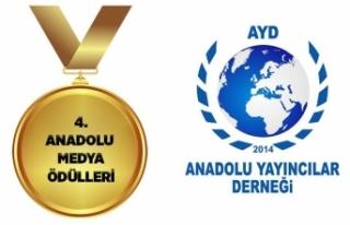 """""""Anadolu Medya Ödülleri"""" 4'üncü..."""