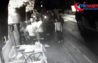 Arda Turan ile Berkay arasındaki kavga kamerada
