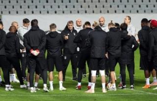 Beşiktaş'ta Göztepe mesaisi başladı