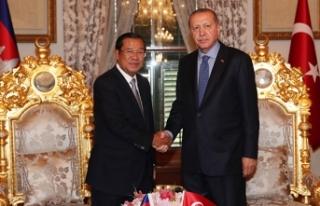 Cumhurbaşkanı Erdoğan, Kamboçya Başbakanı Hun...