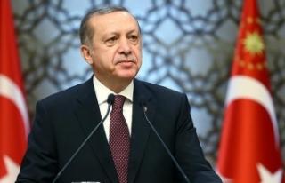 Cumhurbaşkanı Erdoğan: Türkiye'nin aydınlığı...