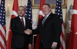 Dışişleri Bakanı Çavuşoğlu, Pompeo ile telefonda...