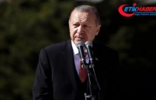 Erdoğan: Fırat'ın doğusundaki terör yuvalarını...