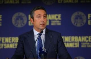 Fenerbahçe Kulübü Başkanı Koç: Biri antrenman...