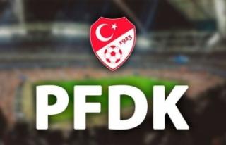 PFDK'dan 3 kulübe para cezası