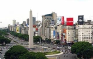 Güney Amerika'dan gelen turist sayısı yüzde...