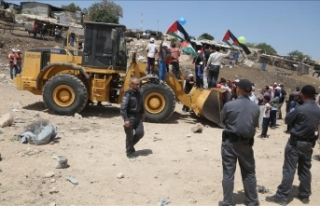 İsrail güçleri, Ağvar'da Filistinlilerin...