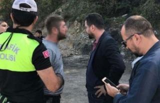 Polisin kovalamacada yakaladığı alkollü sürücünün...