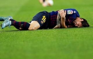 Sakatlanan Messi El Clasico'yu kaçıracak