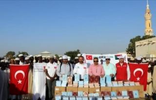 Sudan'da 20 bin Kur'an-ı Kerim dağıtıldı
