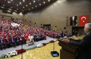 TBMM Başkanı Yıldırım: Barış ve kardeşliğimizden...
