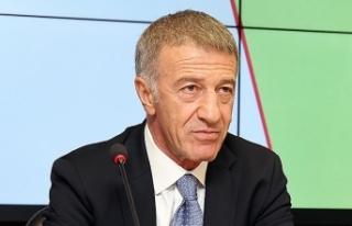 Trabzonspor Başkanı Ağaoğlu'ndan taraftarlara...