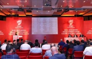 Türkiye Kupası'nda 4. eleme turu kura çekimi...