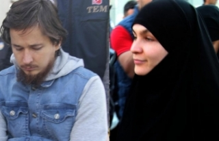 Uluslararası düzeyde aranan DEAŞ militanı, 2 karısıyla...