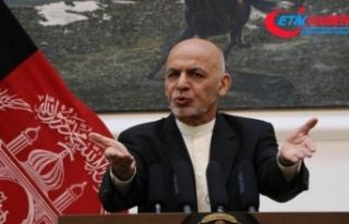 Afganistan Cumhurbaşkanı Gani: Afganistan barış...