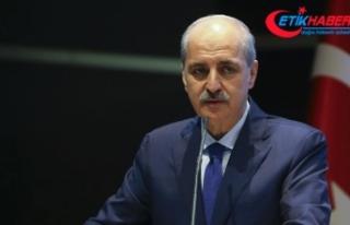 AKP'li Kurtulmuş: PYD'yi meşru görmek...