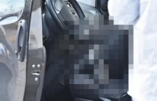 Aracının içinde bıçaklanarak öldürülmüş...