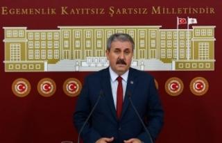 BBP Genel Başkanı Destici'den AK Parti ve MHP'ye...