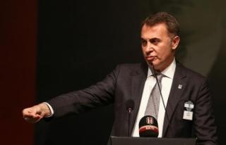 Beşiktaş Başkanı Fikret Orman, Derbi Maçta Fatih...