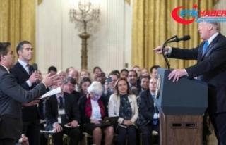 Beyaz Saray, basın toplantılarında soru sorma yöntemlerini...