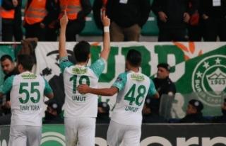 Bursaspor'dan muhteşem geri dönüş