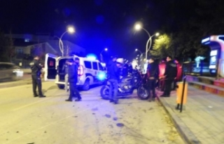 Çorum'da 2 yunus ekibi kaza yaptı: 4 polis...