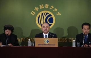Dışişleri Bakanı Çavuşoğlu: Japonya ve Türkiye...