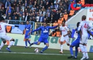 Büyükşehir Belediye Erzurumspor, Göztepe'yi...