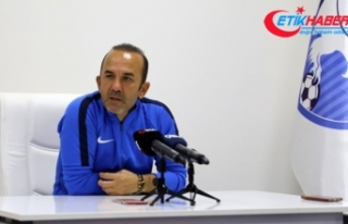 Erzurumspor teknik direktörü Özdilek: Hakemlerden...