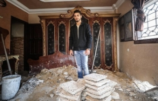 Gazze'de 3 yıldır kurulan hayaller birkaç...