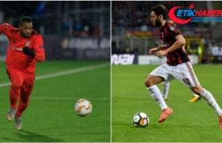 Hakan Çalhanoğlu ve Lens haftanın 11'inde