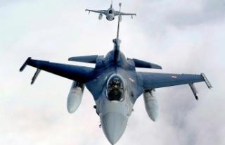 Irak'ın kuzeyine hava harekatı: 14 terörist...
