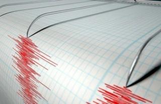 Akdeniz'de 4,1 büyüklüğündeki deprem