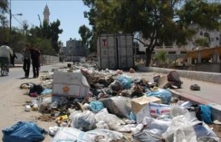 İsrail çevre kirliliğini Gazze halkına karşı...