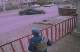Jandarma önünde 'drift' yapan sürücüye...