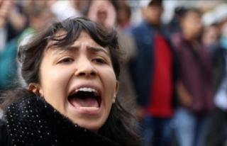 Kolombiya'da öğrenci protestoları sürüyor