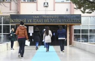 Lisansüstü eğitim görecek adaylar ALES'te...