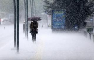 """Doğu Karadeniz için """"çok kuvvetli yağış""""..."""