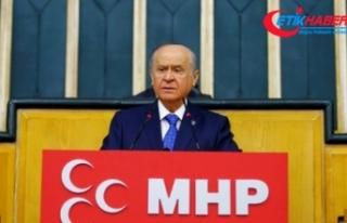 MHP Lideri Bahçeli: Allah'ın verdiği bir canımız...