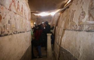 Mısır'da hamile bir kadına ait 3 bin 700 yıllık...