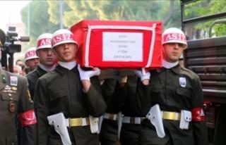Şehit Piyade Teğmen Sevim son yolculuğuna uğurlandı