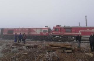 Sivas'ta tren kazası: 15 yaralı