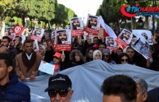Suudi Veliaht'ın ziyareti Tunusluları sokağa...