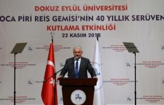 TBMM Başkanı Yıldırım: Türkiye Doğu Akdeniz'de...