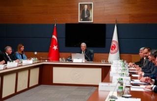 TBMM Dışişleri Komisyonu 11 kanun teklifini kabul...