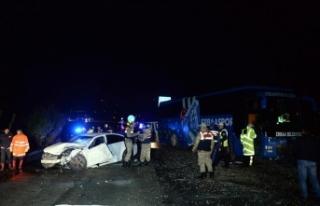 Tokat'ta trafik kazası: Genç doktor hayatını...