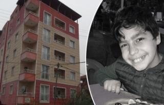 5'inci kattan düşen 12 yaşındaki Nizamettin...